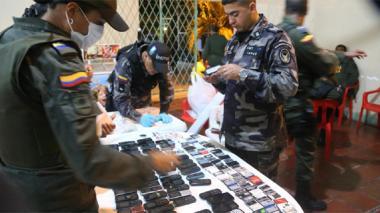 Desmantelan red de comunicaciones en la cárcel La Vega