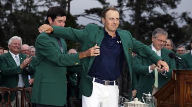 Jordan Spieth gana de punta a punta el Masters de Augusta