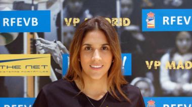 Esposa de James, mejor jugadora de la jornada en Superliga Femenina 2 de voley
