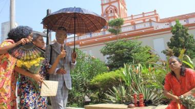 Evocando personajes de las obras de Gabo, Barranquilla conmemora Día del Idioma