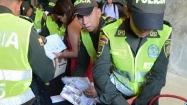 Estrictos controles de la Policía antes del evento presidencial en Cartagena