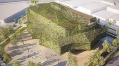 Diseños del Centro Cultural de la Música Vallenata rinden homenaje a los árboles