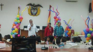 Los niños y las niñas son hoy los protagonistas en el Concejo de Barranquilla