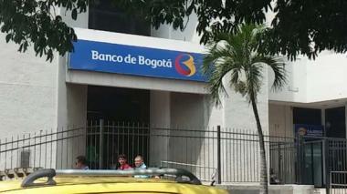 Taquillazo a banco en el centro de Barranqulla