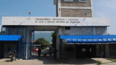 Fachada de la penitenciaría de Alta y Mediana Seguridad de Valledupar.