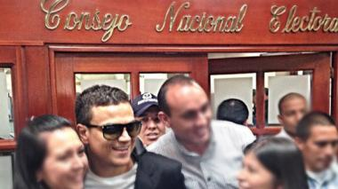 Silvestre Dangond rindió versión libre ante el CNE el pasado 23 de abril.