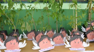 Sembrarán árboles en honor de las víctimas