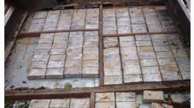 Detienen en Guatemala a un camión con cocaína valorada en 6 millones de dólares