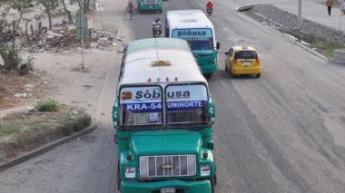 Conozca las siete rutas de buses que cambiarán su recorrido desde hoy