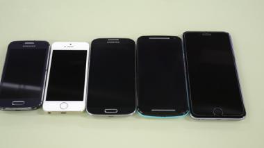 La venta de celulares de alta gama aumentó.