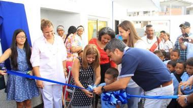 Actos de inauguración del nuevo CDI.