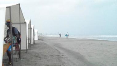 Playas de La Boquilla.