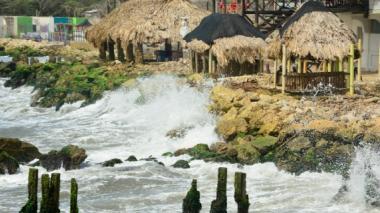 El mar sigue causando estragos en Salgar