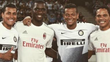 Carlos Bacca debuta en China con triunfo del AC Milan 1-0 ante el Inter de Milan