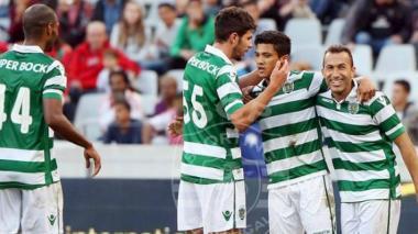 Con dos goles de Fredy Montero, y con Teo en la cancha,  Sporting de Lisboa ganó copa en Sudáfrica