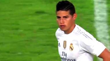James Rodríguez marcó un golazo en amistoso ante el Inter de Milan
