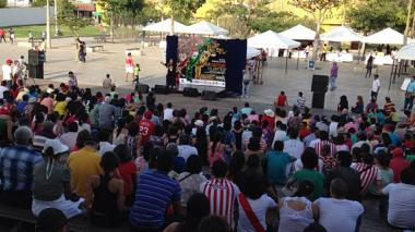 Caribe Cuenta se realiza en diversos espacios de la ciudad.