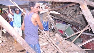 Las lluvias destruyeron viviendas entre 2010 y 2011.