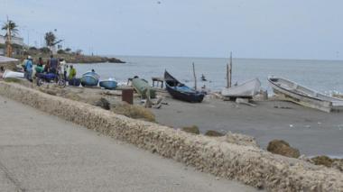 Calor, subida leve de la marea y lluvia, este domingo en Cartagena
