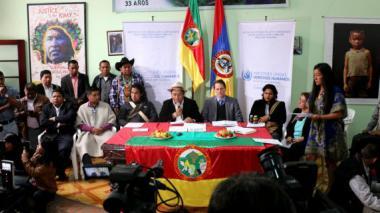 3.423 indígenas colombianos, víctimas de violaciones de derechos humanos en lo corrido de 2015