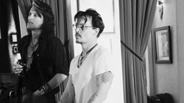 Johnny Depp dará conciertos con Alice Cooper y Joe Perry