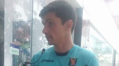 El cancerbero argentino  Daniel Ferreyra.