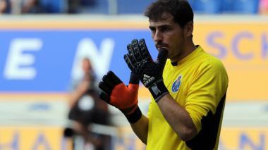 Íker Casillas debutó en la victoria del Porto 3-0 ante Guimaraes
