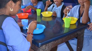 Alimentación indigna en los comedores infantiles de La Guajira