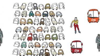 Imagen promocional del Día sin carro en Bogotá, el pasado 22 de abril.