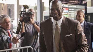 Michael Jordan, exjugador de la NBA.