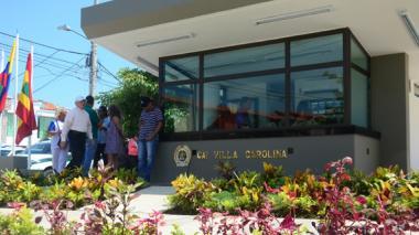 Barrio Villa Carolina ya cuenta con un CAI blindado
