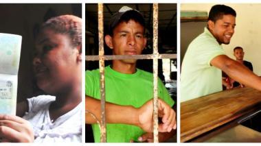 Las caras tras el éxodo de atlanticenses en Venezuela