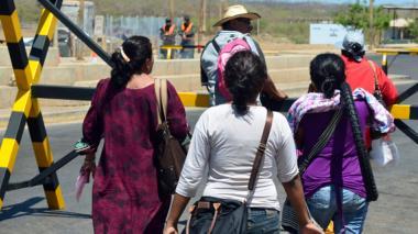 909 deportados y retornados desde Venezuela entraron al país por La Guajira