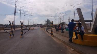 Así está hoy la frontera en Paraguachón, La Guajira