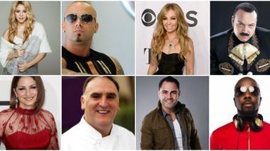 Shakira, Gloria Estefan y otros artista cantarán contra Donald Trump