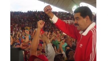 """""""Espero reunirme pronto, cara a cara, con el presidente Juan Manuel Santos"""": Nicolás Maduro"""
