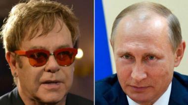 La llamada de Putin a Elton John fue una broma telefónica de dos humoristas rusos