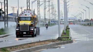 900.000 vehículos transitaron por el Corredor Portuario durante su primer año