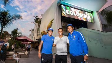 Bacca, Guarín y Murillo asisten al pabellón de Colombia en Expo Milán