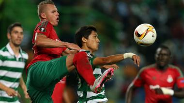 Fredy Montero marcó, pero el Sporting cayó ante el Lokomotiv en la Europa League