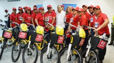 Entregan 90 bicicletas públicas para el sur del Atlántico