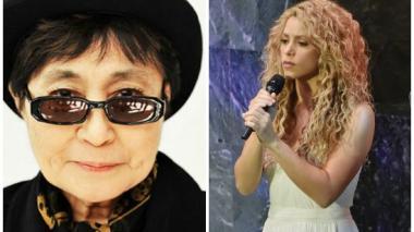 Yoko Ono agradece a Shakira por la bella interpretación de Imagine de John Lennon
