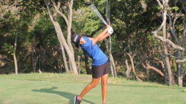 Barranquillera se destaca en golf