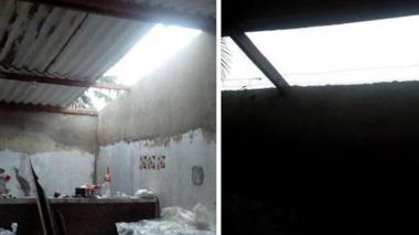 Vendaval deja 87 viviendas afectadas y una niña herida en el sur de Barranquilla