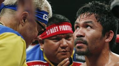 Pacquiao desea que su próxima pelea sea en Catar y contra Mayweather