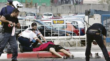 Cuatro ataques de palestinos en Israel dejan varios heridos, según reporte de autoridades