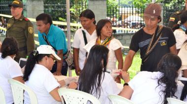 Indígenas de Pueblo Bello protestan por resultados en Alcaldía