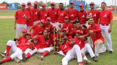 Novena atlanticense que con el título del Campeonato Nacional Juvenil, en el 2014.