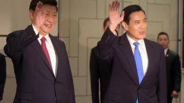 Presidentes de China y Taiwán, Xi Jinping y Ma Ying-jeou