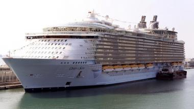 El crucero Oasis of the Seas de Royal Caribbean